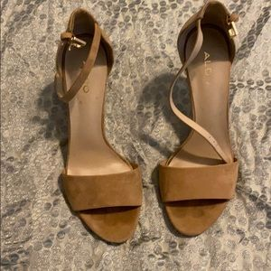 Aldo heels! Only worn once!